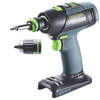 Festool T18+3 18V Li-Ion  Brushless Cordless Drill Driver - Bare
