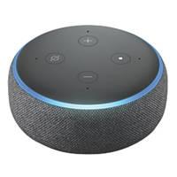 Amazon Echo Dot 3rd Gen Voice Assistant Charcoal Fabric