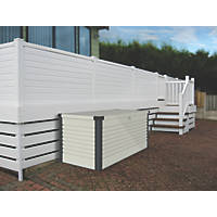 Trimetals Patio Box 1350 x 785 x 725mm White