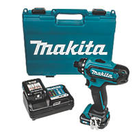 "Makita DF031DWAE 10.8V 2.0Ah Li-Ion CXT  Cordless ¼"" Hex Drill Driver"