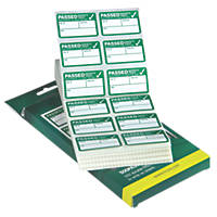 Kewtech Pass Test Labels 500 Pack