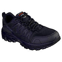 Skechers Fannter   Non Safety Shoes Black Size 8