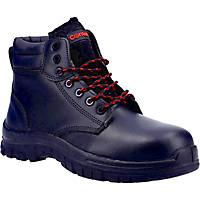 Centek FS317C Metal Free  Safety Boots Black Size 8