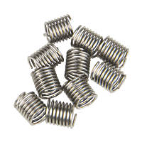 Helicoil Thread Repair Inserts  M5 x 0.8mm 10 Pack