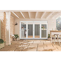 Jeld-Wen Bedgebury Slide & Fold Patio Door Set White 2994 x 2094mm