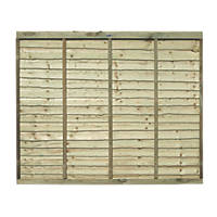 Grange Pro Lap Fence Panels 1.83 x 1.5m 3 Pack