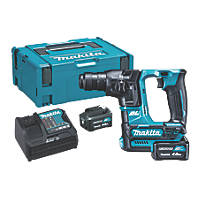 Makita HR166DSMJ 2.4kg 10.8-12V 4.0Ah Li-Ion CXT Brushless Cordless SDS Plus Drill
