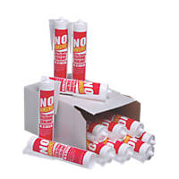 No Nonsense  General Purpose Silicone White 310ml 12 Pack