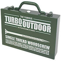 Turbo Outdoor PZ Double Self-Countersunk Trade Case 1000 Pcs