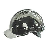 Portwest Peakview Translucent Vented Safety Helmet Grey