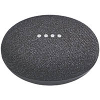 Google Home Mini Voice Assistant Charcoal