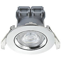 LAP  Adjustable  LED Downlight Chrome 370lm 5W 220-240V