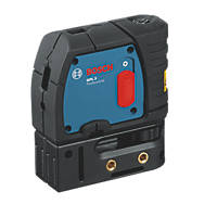 Bosch GPL3 Red Self-Levelling Spot 3 Point Laser Level