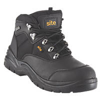 Site Onyx Safety Boots Black Size 9