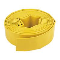 "Layflat Hose Yellow 10m x 2"""