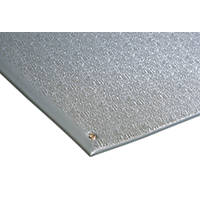 COBA Europe COBAstat Anti-Fatigue Floor Mat Grey 1.5 x 0.9m