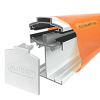 ALUKAP-SS White  Self-Support Bar 60mm x 3000mm