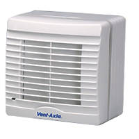 Vent-Axia VA100XT 15W Bathroom Extractor Fan with Timer White 240V