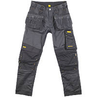 "DeWalt Richmond DWC116-004 Holster Work Trousers Charcoal Grey 34"" W 31"" L"