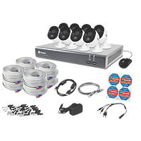 Swann SODVK-164588-UK 16-Channel CCTV DVR & 8 Cameras