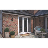 ATT  uPVC French Doors & Sidelight White 2390 x 2090mm