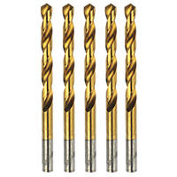 Erbauer  Ground HSS Drill Bits 10 x 133mm 5 Pack