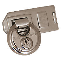 Kasp Disc Padlock with Hasp Zinc-Plated 160mm