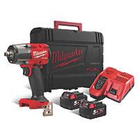Milwaukee M18 FMTIW2F12-502X 18V 5.0Ah Li-Ion RedLithium Brushless Cordless Impact Wrench