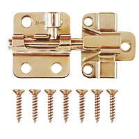 Ajustlock Adjustable Barrel Bolt Brass 50mm