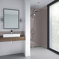 Splashwall Bathroom Splashback Gloss Fawn 900 x 2420 x 4mm