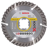 Bosch X-Lock Concrete/Stone Diamond Cutting Blade 115 x 22.23mm