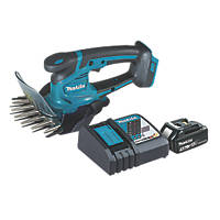 Makita DUM604RTX 18V 5.0Ah Li-Ion LXT  Cordless Grass Shears