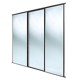 Spacepro Classic 3 Door Framed Sliding Wardrobe Doors
