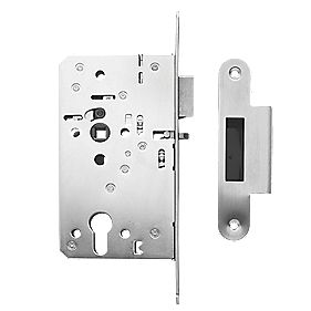 Briton Stainless Steel Euro Profile Mortice Night Latch