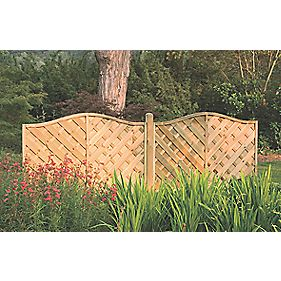 forest strasburg fence panel fence panels 1 8 x 5. Black Bedroom Furniture Sets. Home Design Ideas