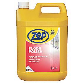 Zep Commercial Floor Polish 5ltr Floor And Carpet