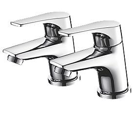 Bristan Easyfit Vantage Bath Taps Pair Bath Taps