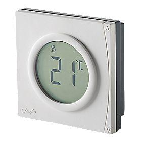 danfoss ret2000b digital room thermostat with volt free. Black Bedroom Furniture Sets. Home Design Ideas