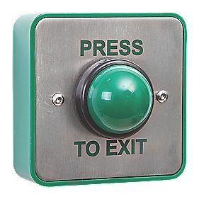 Briton Domed Push To Exit Button Push Button Locks
