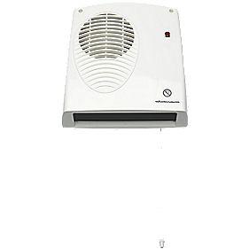 winterwarm wwdf20e wall mounted fan heater 2000w heaters. Black Bedroom Furniture Sets. Home Design Ideas