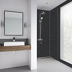 splashwall laminate panel gloss moon dust 600 x 2440 x