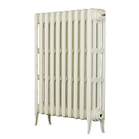 Arroll 4 Column Cast Iron Radiator 760 X 994mm White