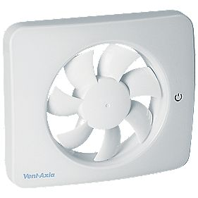 Vent Axia Pureair Sense 479460 2w Bathroom Extractor Fan App Controlled White 240v Bathroom