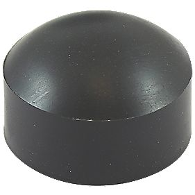 Timco Sela Washer Cover Black Carbon Steel 28mm 75 Pack
