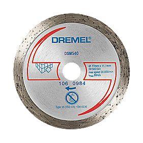 Dremel Saw Max Diamond Tile Cutting Disc 2 Quot 55mm X 5 X