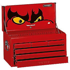teng tools 8 series 6 drawer tool chest top box tool. Black Bedroom Furniture Sets. Home Design Ideas