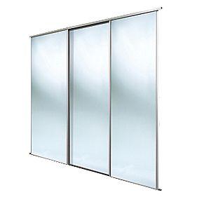 Spacepro Classic 3 Door Framed Sliding Mirror Wardrobe