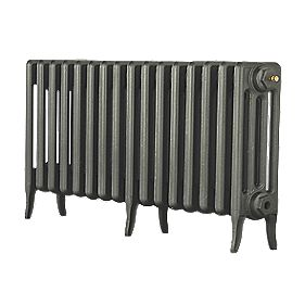 Arroll 4 Column Cast Iron Radiator 460 X 874mm Cast Grey