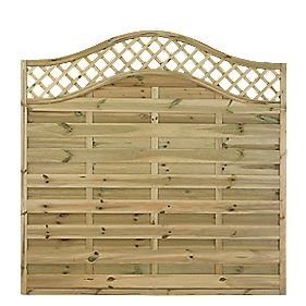 forest prague fence panels 1 8 x 5 pack lattice. Black Bedroom Furniture Sets. Home Design Ideas
