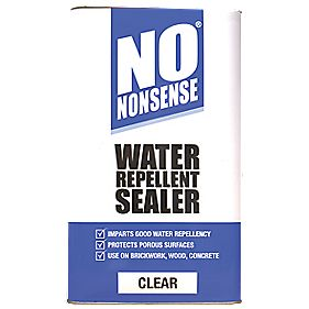 No Nonsense Water Repellent Seal Clear 5ltr Water Seal